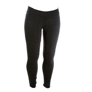 Pants - Plus Black Moto Jeggings