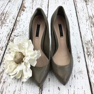 💕SALE💕Zara Olive Green Heels