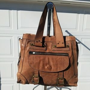 Chloe medium leather bag