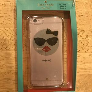 ♠️Kate Spade♠️ Shady Lady iPhone6/ iPhone 6s Case