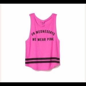 Victoria's Secret On Wednesdays We Wear Pink Tank