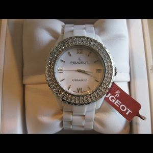 ❌SOLD❌ Authentic Peugeot Ceramic Ladies Watch