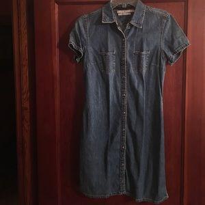 Tommy stone washed denim dress