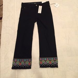 NWT Rafaela weekend ankle straight leg Jeans 10