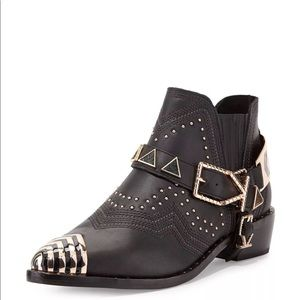 Ivy Kirzhner Studded Santa Fe Booties