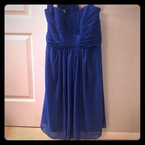 David's Bridal Chiffon Horizon Dress Size 6