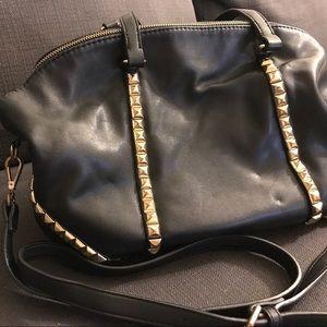 Black Off the Shoulder Bag