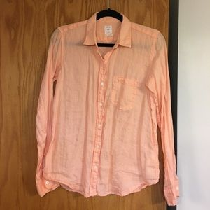 Gap linen button down