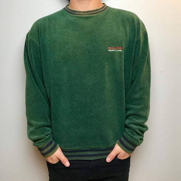 0790270ec Vintage Polo Ralph Lauren Chaps Green Sweater M. M 59e6a4a799086a5611065d93