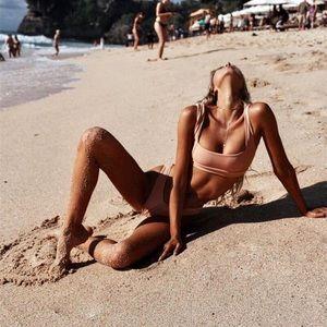 Other - LEILA Ribbed Bikini Set 