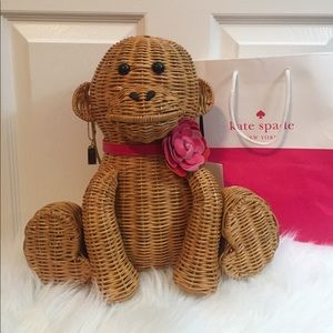 Nwt Kate spade rambling roses wicked monkey purse