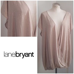 Lane Bryant Wrap Top New with Tags