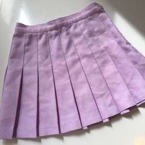 Clueless American Apparel Purple Tennis Mini Skirt