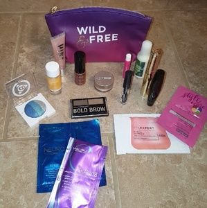 Ipsy bag and makeup bundle