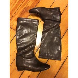 Loeffler Randall Matilde Brown Boots Size 7.5