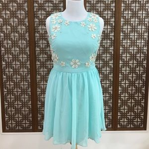 ChiChi London SZ: 12 Light Blue Prom Dress