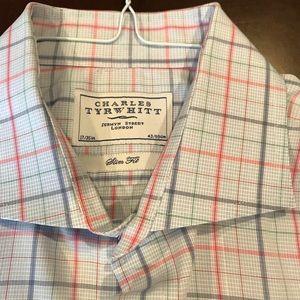 Men's Charles Tyrwhitt French Cuff dress shirt
