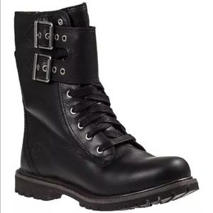 New Timberland Earthkeepers Lace Up Combat Boots
