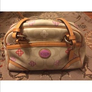 Coach  Ashley Opt Art handbag
