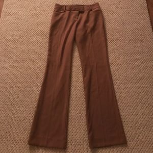 The Limited Cassidy Fit brown dress pants (size4)