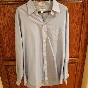 Long sleeve men's dress shirt