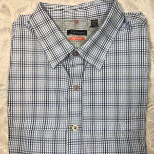 Van Heusen Mens Striped Button Down Shirt SIZE 2XL
