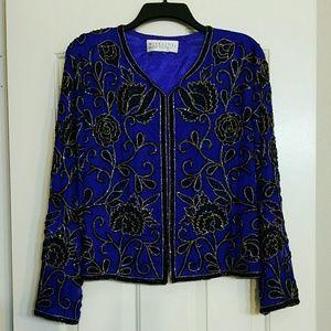 Vintage sequin blazer / jacket
