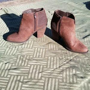Carlos Brown Booties Size 7