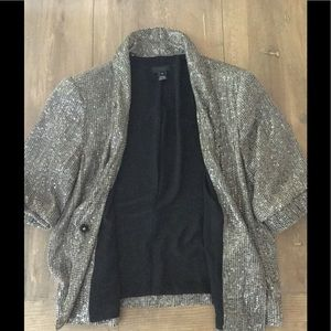 J Crew Moonbeam Sequin Jacket