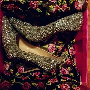 Jeweled stilettos