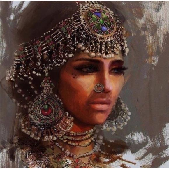 Afghan jewelry bundle