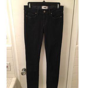 Paige Dark Skinny Jeans