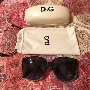 Dolce & Gabbana Blue Sunglasses- NEW
