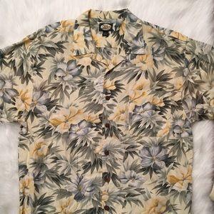 Tommy Bahama Hawaiian Floral Shirt US MENS LARGE