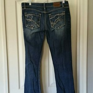 Bke  mid rise bootcut jeans