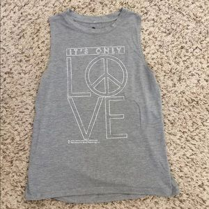NWOG It's Only Love active Tank Top