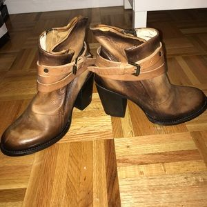Freebird Leather Booties - Size 8