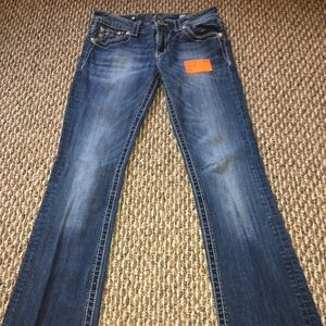 MISS ME BOOTCUT JEANS.