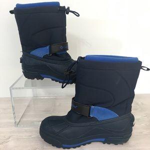 Columbia Little Kid's Frost Flight Snow Boots Sz 1