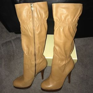Michael Kors genuine leather boots