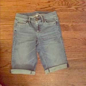 Bermuda jean short