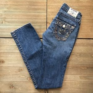 True Religion Embroidered Jeans