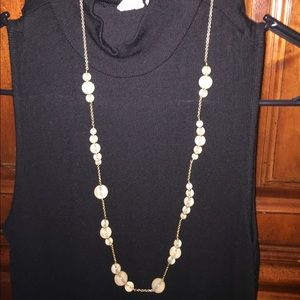 J Crew necklace for many outfits! Neutral color