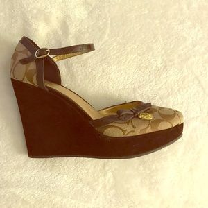 Coach Wedges! Brand New!!!!