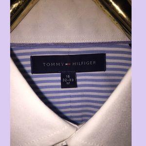 Tommy Hilfiger: White Collar Button Down
