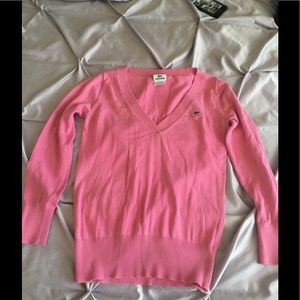 Gently used pink Lacoste size 38 lightweight