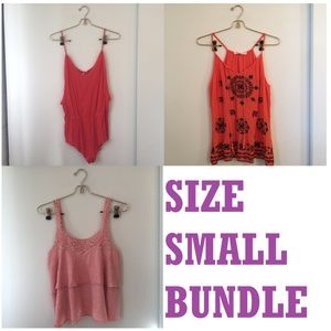 Size Small Romper/Tank Bundle