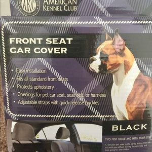 Stupendous New In Box Akc Universal Car Seat Cover Dog Nwt Alphanode Cool Chair Designs And Ideas Alphanodeonline
