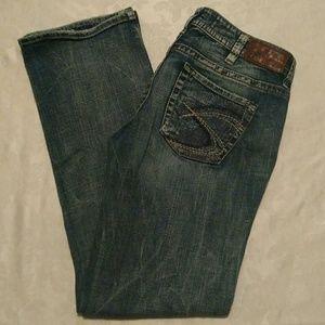 """Silver Lola Blue Jeans 30 17"""""""