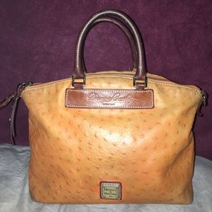 Dooney and bourke orange bag